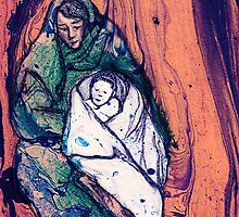 Marbled Madonna and Child by EmilyStemmons