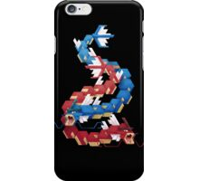 Blue and Red Gyarados iPhone Case/Skin