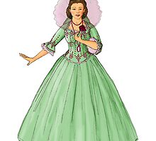 Princess in Green Dress by EmilyStemmons
