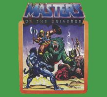 He-Man Masters of the Universe Battle Scene with Skeletor Kids Clothes