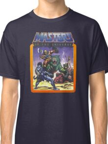 He-Man Masters of the Universe Battle Scene with Skeletor Classic T-Shirt