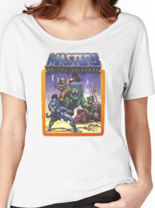 He-Man Masters of the Universe Battle Scene with Skeletor Women's Relaxed Fit T-Shirt