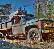 Rusty Ford by James Brotherton