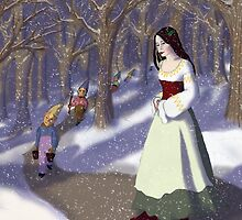 Wishing You a Snow White Christmas by EmilyStemmons