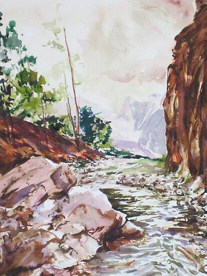 Old watershed by IslesOfMine
