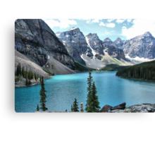 Moraine Lake, Banff National Park Canvas Print