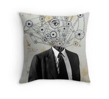 mr wheels-in-motion Throw Pillow