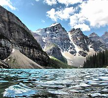 Moraine Lake by Vickie Emms