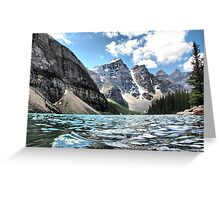 Moraine Lake Greeting Card