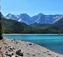 Upper Kananaskis Lake by Vickie Emms