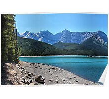 Upper Kananaskis Lake Poster