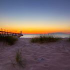 Manistee Sunset by Megan Noble
