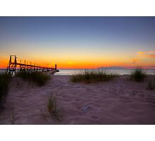 Manistee Sunset Photographic Print