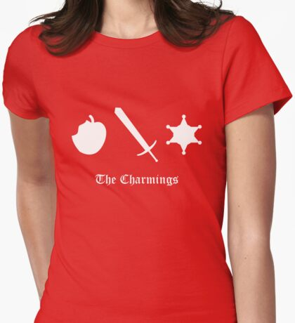 The Charmings Womens Fitted T-Shirt