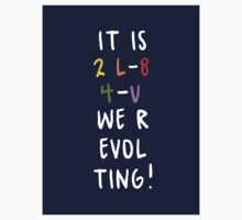 WE R-EVOLTING! Sticker by grcekang
