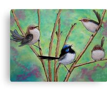 Flutter of Wings Canvas Print