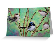 Flutter of Wings Greeting Card