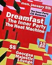 The Inner Party Show Flyer - January 5th 2009 by Keith Miller