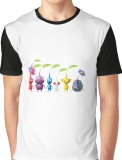 pikmin plain Graphic T-Shirt