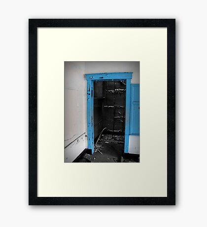 Natural Blue Light Framed Print
