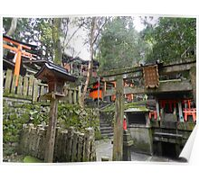 Smaller Shrines at Fushimi Inari-Taisha Poster