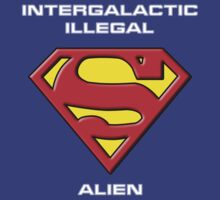 Intergalactic Illegal Alien by Samuel Sheats