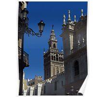 Giralda Bell Tower, Seville Poster