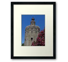 Torre Del Oro, Sevilla, 1220 Framed Print