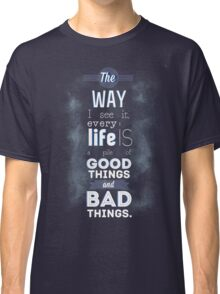 Pile of Good and Bad. Classic T-Shirt