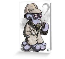 Sherlocktopus Greeting Card