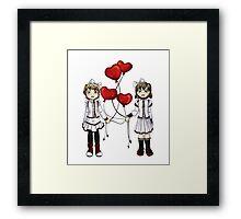 Love on a String Framed Print