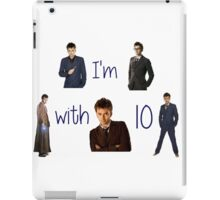 Doctor who- 10th doctor  iPad Case/Skin