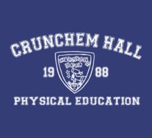 Crunchem Hall Phys Ed shirt by grcekang