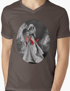 。◕‿◕。ANGEL MESSENGER TEE SHIRT。◕‿◕。 Mens V-Neck T-Shirt