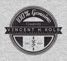 Vincent H. Kolb Promo Design- Black Kids Tee
