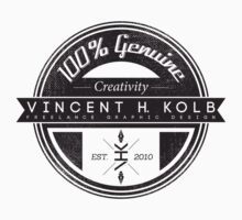 Vincent H. Kolb Promo Design- Black by vhkolb