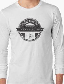 Vincent H. Kolb Promo Design- Black Long Sleeve T-Shirt