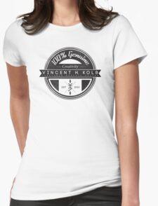 Vincent H. Kolb Promo Design- Black Womens Fitted T-Shirt
