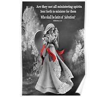 ✾◕‿◕✾MESSENGER ANGEL  WITH BIBLICAL TEXT✾◕‿◕✾ Poster