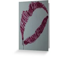 The Kiss Greeting Card