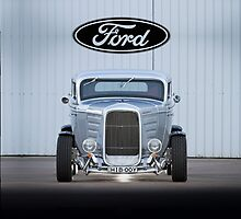 '32 Ford Coupe - iPhone Case by HoskingInd