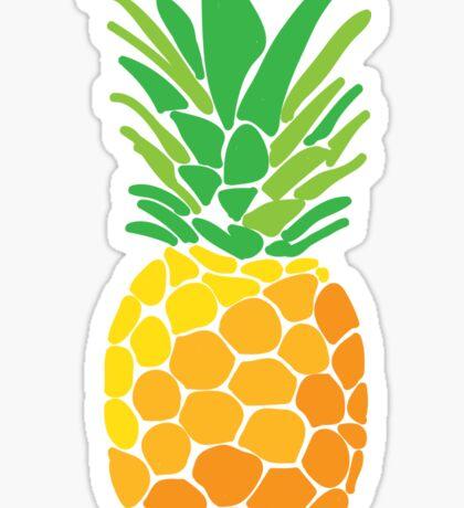 pineapple II Sticker