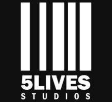 5 Lives Studios White Kids Clothes