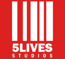 5 Lives Studios White Kids Clothes