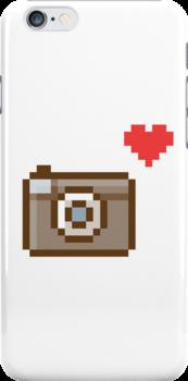 pixel camera love by vanitease