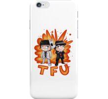 Team Force Update's T-Shirt & Stickers (2D Art) iPhone Case/Skin
