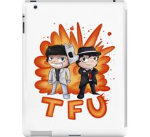 Team Force Update's T-Shirt & Stickers (2D Art) iPad Case/Skin