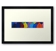 All the colours of the family Framed Print