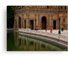 Plaza de Espana Canvas Print