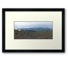 Snowdon Views 1 Framed Print